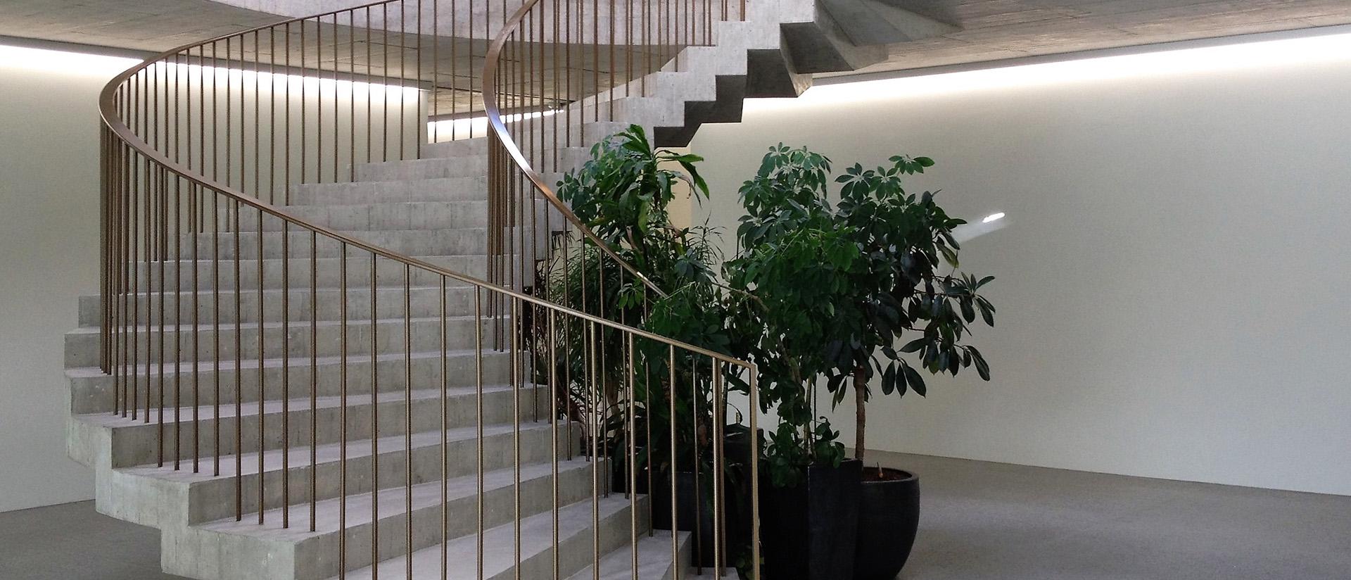 Barrières et escaliers